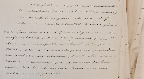 AGR2, Cour d'Assises de Brabant, Case file 1242, Interrogatoire de l'inculpé, 1895.